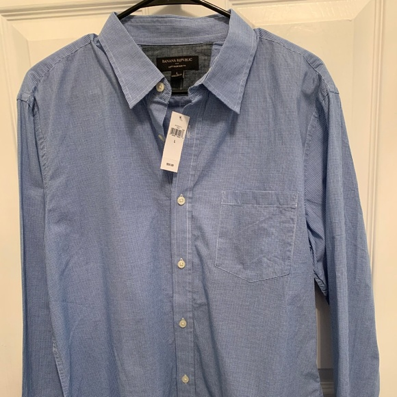Banana Republic, Old Navy, Ted Baker Other - 4 Men's casual button down shirts.